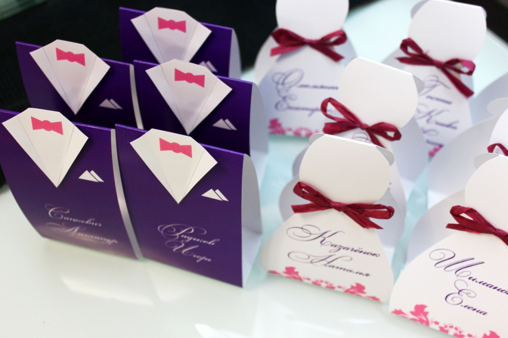 Карточка для гостей на свадьбу своими руками 61