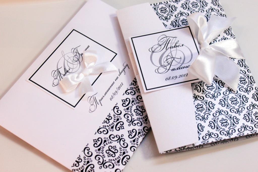Чёрно-белые открытки своими руками 6