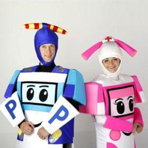 робокап, поли, эмбер, заказать клоуна, пригласить клоуна, заказать аниматора, пригласить аниматора, детские праздники в минске, детский праздник