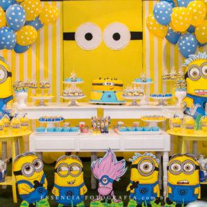 decoração-festa-infantil-aniversário-minions